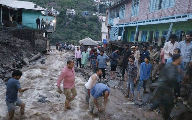 Jammu and Kashmir: 6 killed, many trapped in flash floods triggered by cloudburst in Doda district