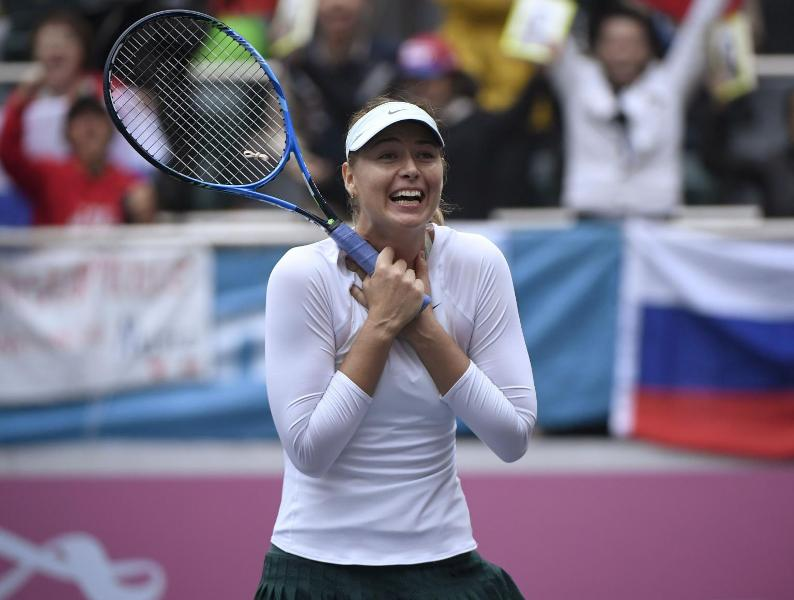Sharapova moves up by 29 spots in WTA Rankings