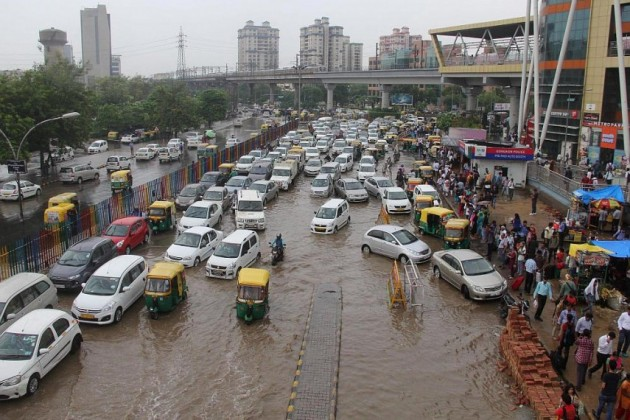 From Millenium to Maximum, rain cripples major Indian cities