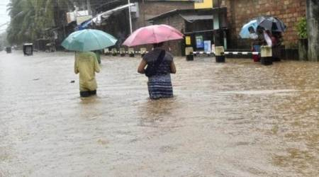 Heavy rains, flash floods wreak havoc in Imphal, Guwahati