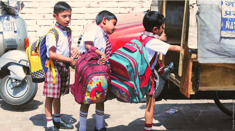 No heavy bags for school children: Says CBSE