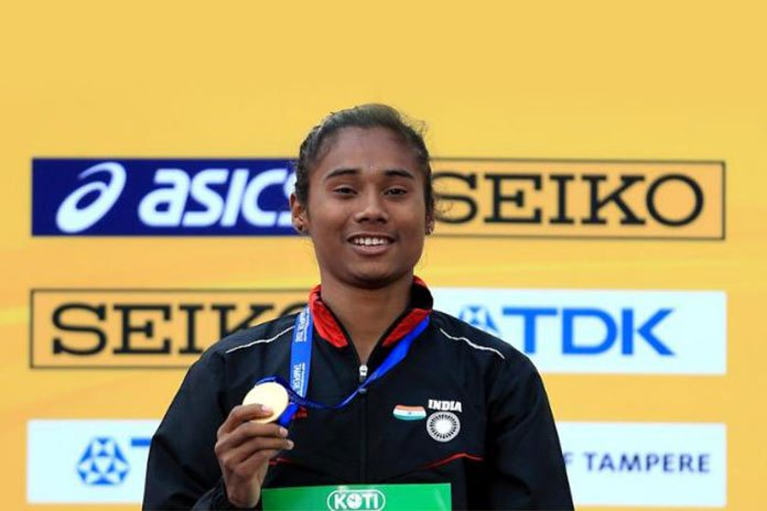 Hima Das to be Assam sports ambassador, confirms CM
