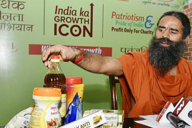 Ramdev's Patanjali rapped for 'gross exaggeration' in 'misleading ads'