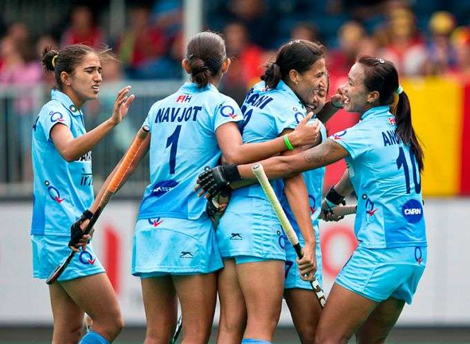 Indian women's hockey team beat Korea 3-1 to win series