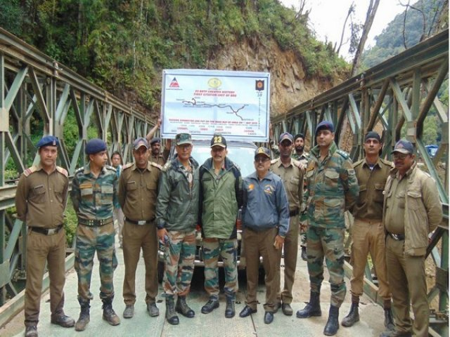 BRO creates history through road link to China border