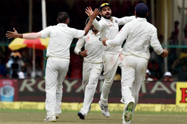 India v New Zealand, Kanpur Test: India beat New Zealand by 197 runs