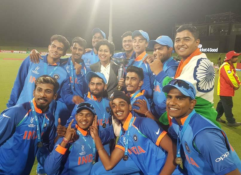 India Crush Australia, Become 1st Team To Win ICC U-19 World Cup 4 Times