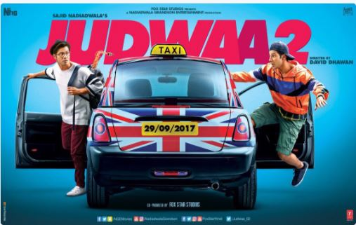 Varun Dhawan promises 'double fun' in first 'Judwaa 2' poster