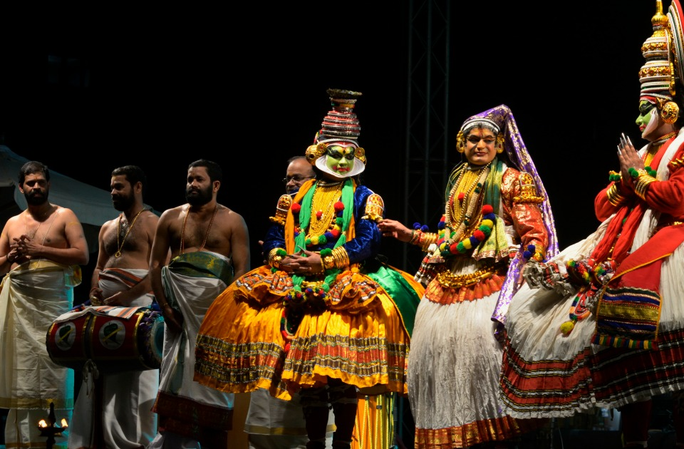 India's Kathakali dance troupe in Egypt for first time