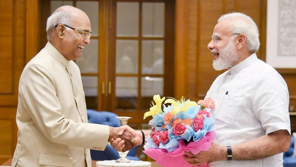 PM Modi congratulates Kovind for becoming 14th President of India
