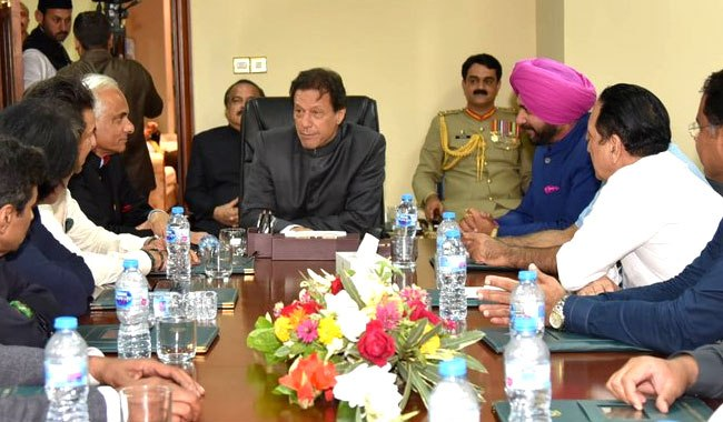 Imran Khan comes out in support of Sidhu, calls him ambassador of peace