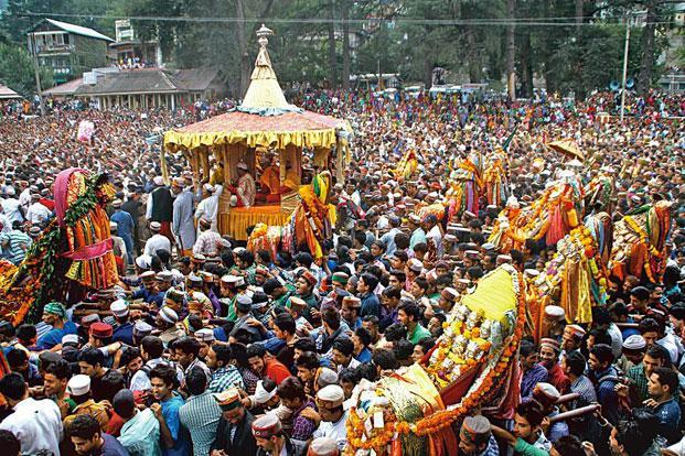 Historical week-long Kullu Dussehra festival begins today