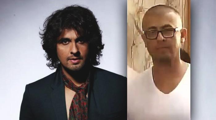 Sonu Nigam shaves head, asks Muslim cleric for Rs 10 lakh over fatwa against him for 'azaan' remark!