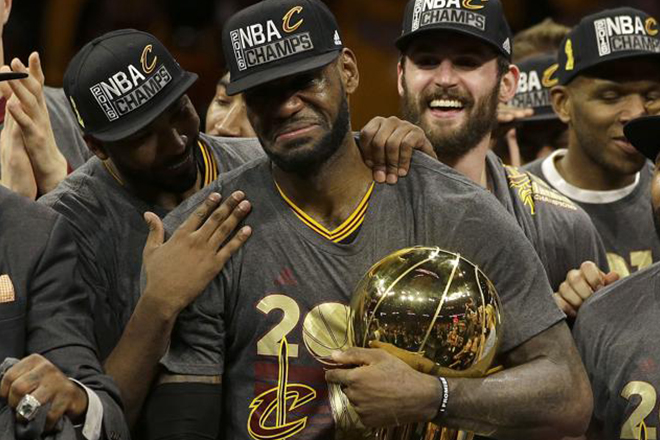 LeBron James, Cleveland Cavaliers seal historic comeback, win NBA Finals