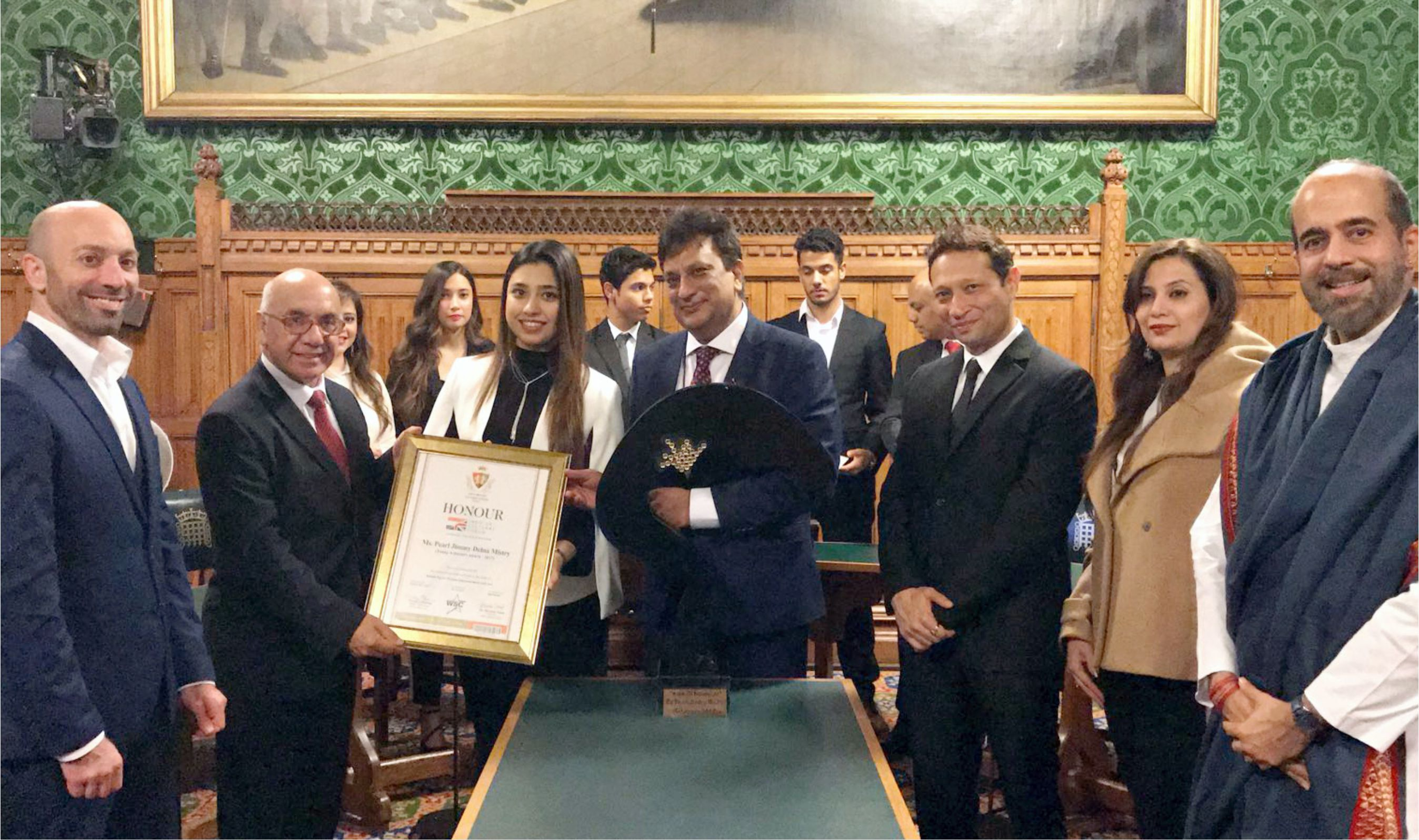 Pearl Jimmy Delna Mistry gets Young Achievers Award 2017 of Indo – British Cultural Forum in London