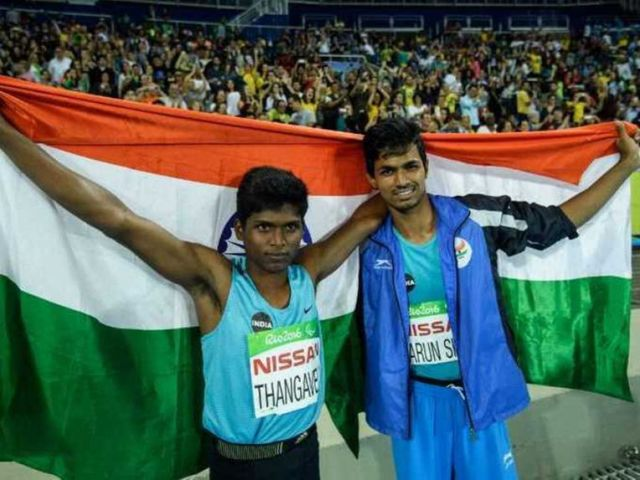 Thangavelu wins gold at Rio Paralympics