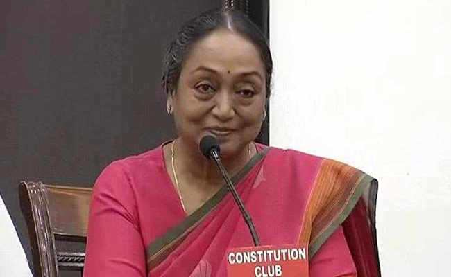 Meira Kumar thanks Opposition parties for support, vows to uphold democratic values, end caste structure