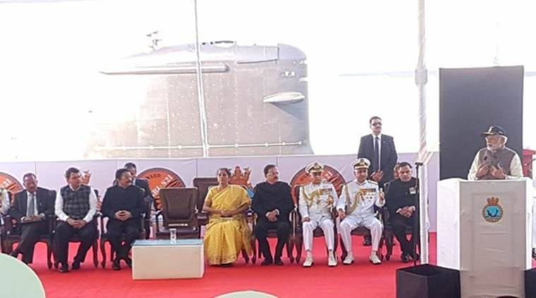 INS Kalvari commissioned to Indian Navy, PM Modi says fine example of 'Make In India'