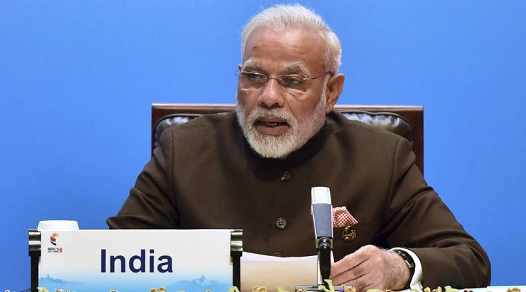 Modi calls for coordinated action on counter terrorism