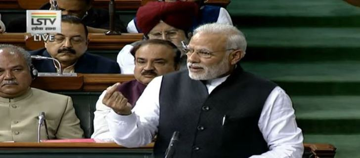 PM Narendra Modi's marathon speech in Lok Sabha: Fight is for poor, interests of nation supreme