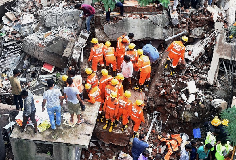 Mumbai building collapse: Four killed, Maha Govt. orders probe
