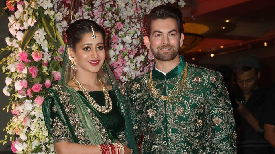 A star-studded wedding reception for Neil Nitin Mukesh and Rukmini Sahay