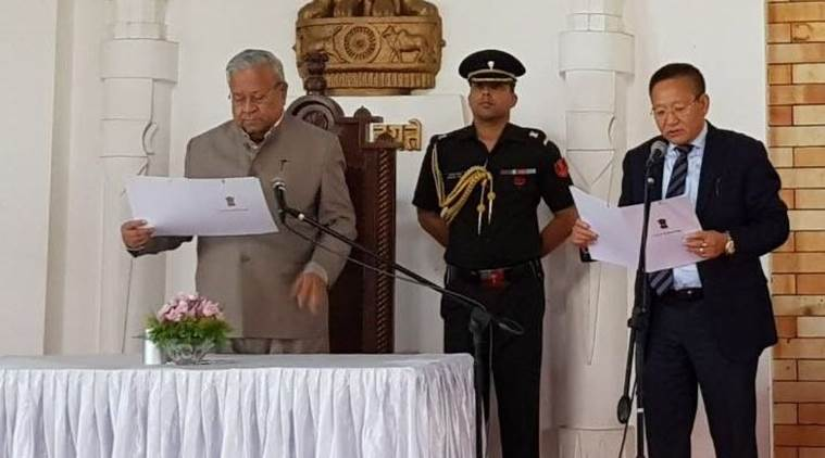 Zeliang sworn-in as new Nagaland CM