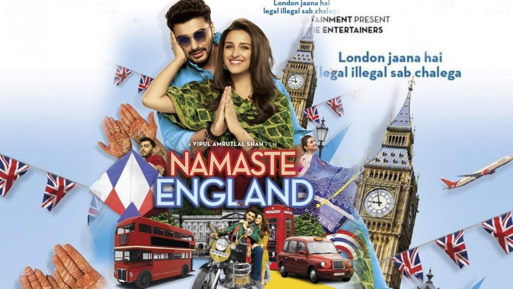 First look posters of 'Namaste England' unveiled