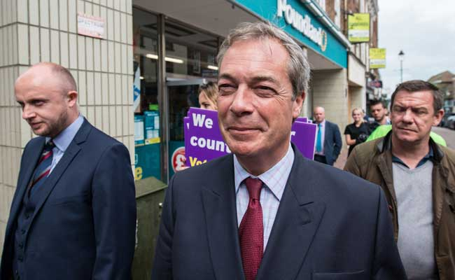 I Want My Life Back Nigel Farage Quits As Leader Of Pro-Brexit Party