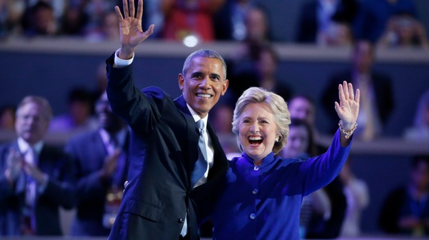 There's never been a more qualified candidate to be US President than Hillary Clinton', Obama says