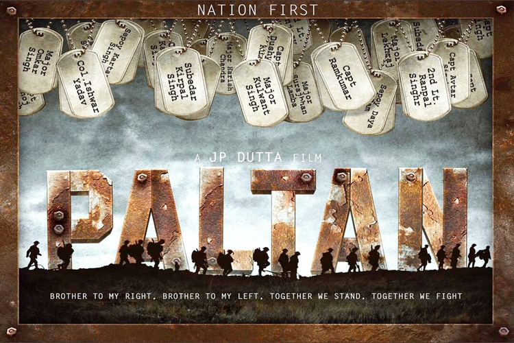 First look posters of 'Paltan' unveiled
