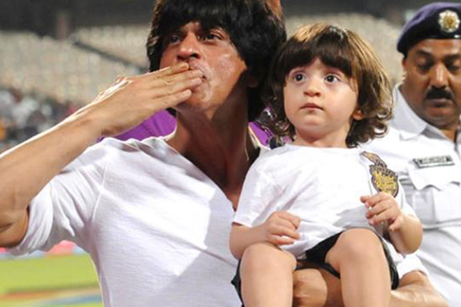 SRK's life lessons for AbRam: Nail polish, taking the plunge and more