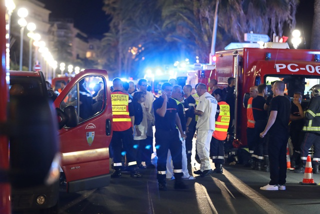 At least 80 dead in 'terrorist' Nice truck attack