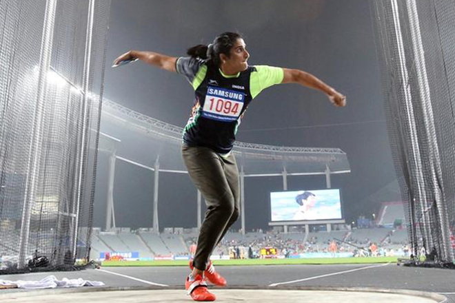 Discus thrower Seema Punia qualifies for Rio Olympics