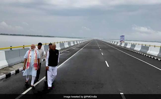 PM Modi names India's longest bridge after Assamese legend Bhupen Hazarika