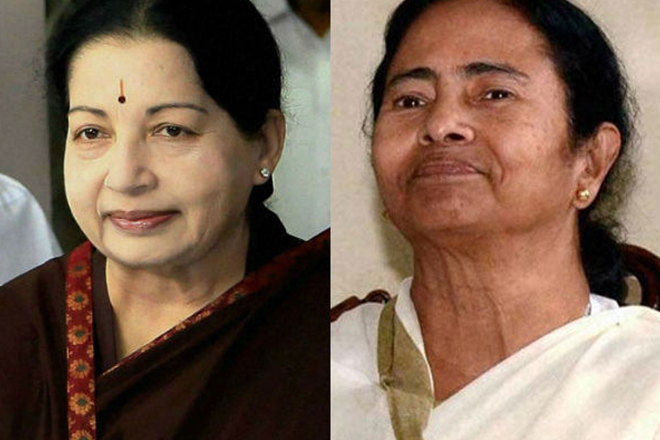 Congress ousted in Assam, Kerala; Jaya, Mamata retain power