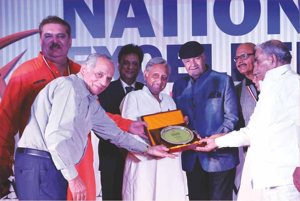 Lifetime Achievement Award of Alma National Excellence Award 2016 goes to Bollywood Actor Shri Prem Chopra Jee