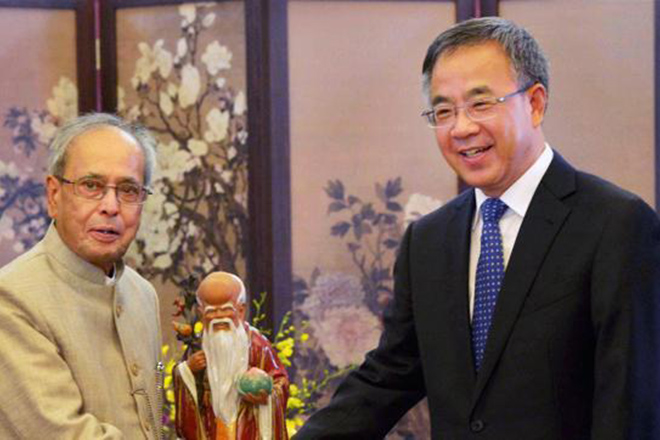 President Mukherjee invites China to be part of India's growth story