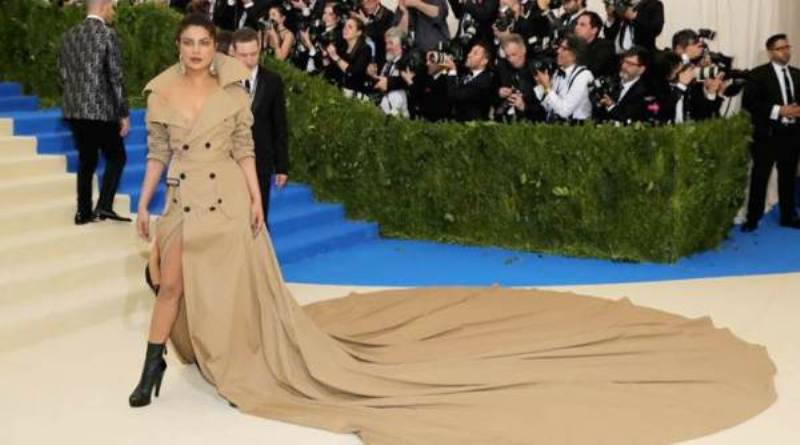 Priyanka Chopra's Met Gala 2017 appearance in world's longest trench coat is iconic