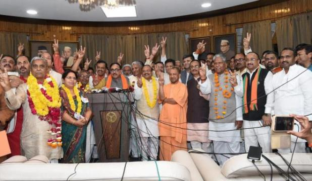 BJP at 69, Congress at 50 in Rajya Sabha after polls