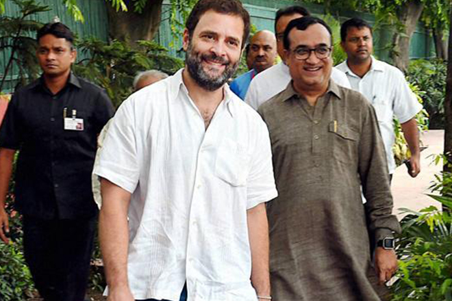 Rahul Gandhi tweets travel plans, says will be abroad for a few days