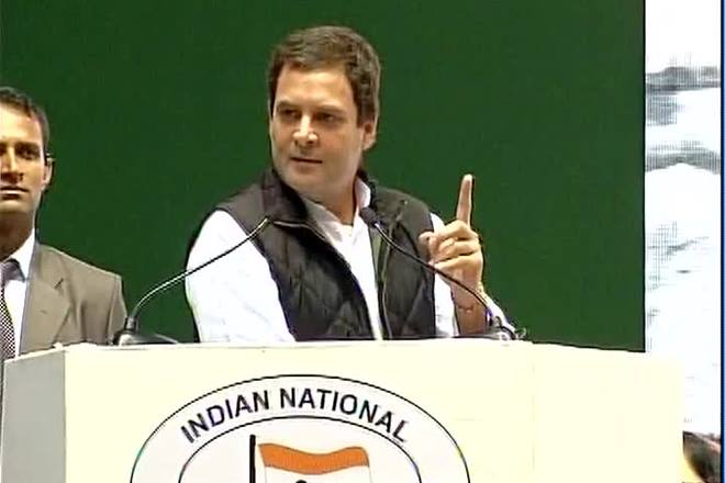 'Acche din will only come in 2019 when Congress comes back to power,' says Rahul Gandhi