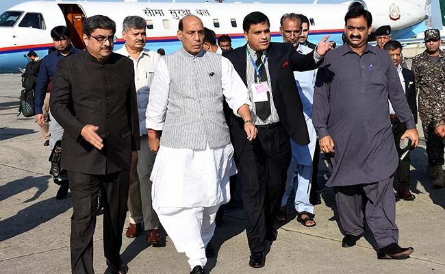 Rajnath Singh's Message In Islamabad On Terror Blacked Out By Pakistan