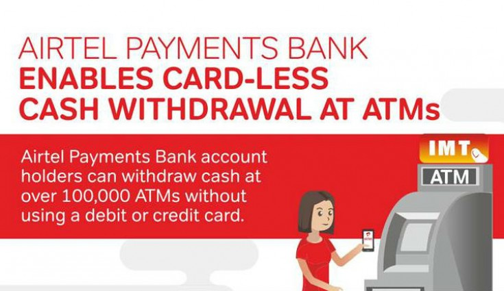 Airtel Payments Bank enables card-less cash withdrawal at ATMs