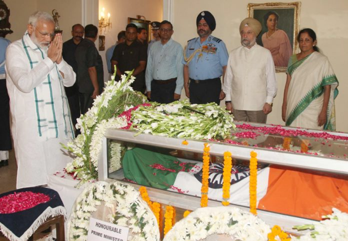 Nation pays final tributes to Marshal Arjan Singh