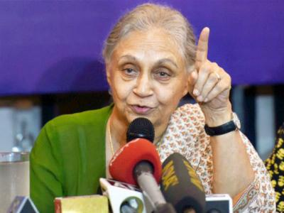 Sheila Dikshit is Congress's CM candidate for UP assembly polls