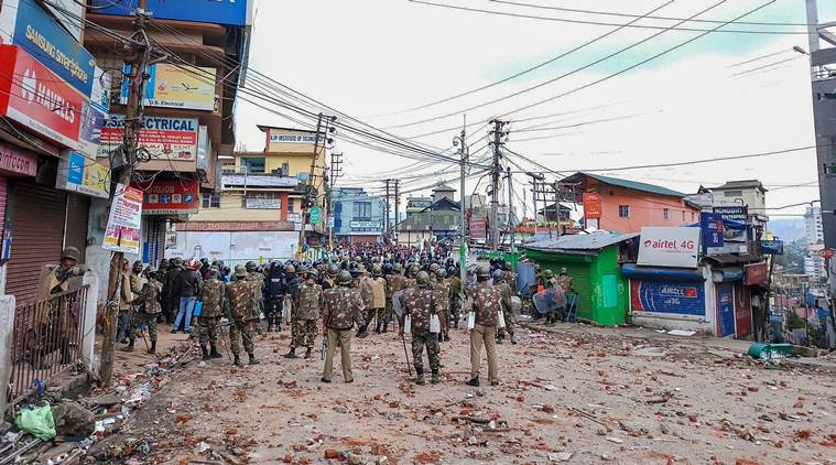 Shillong unrest: Curfew imposed across city till tomorrow, MHA sends team of central forces to restive areas