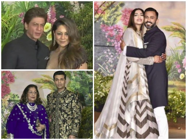 B-town dazzles at Sonam Kapoor, Anand Ahuja reception party