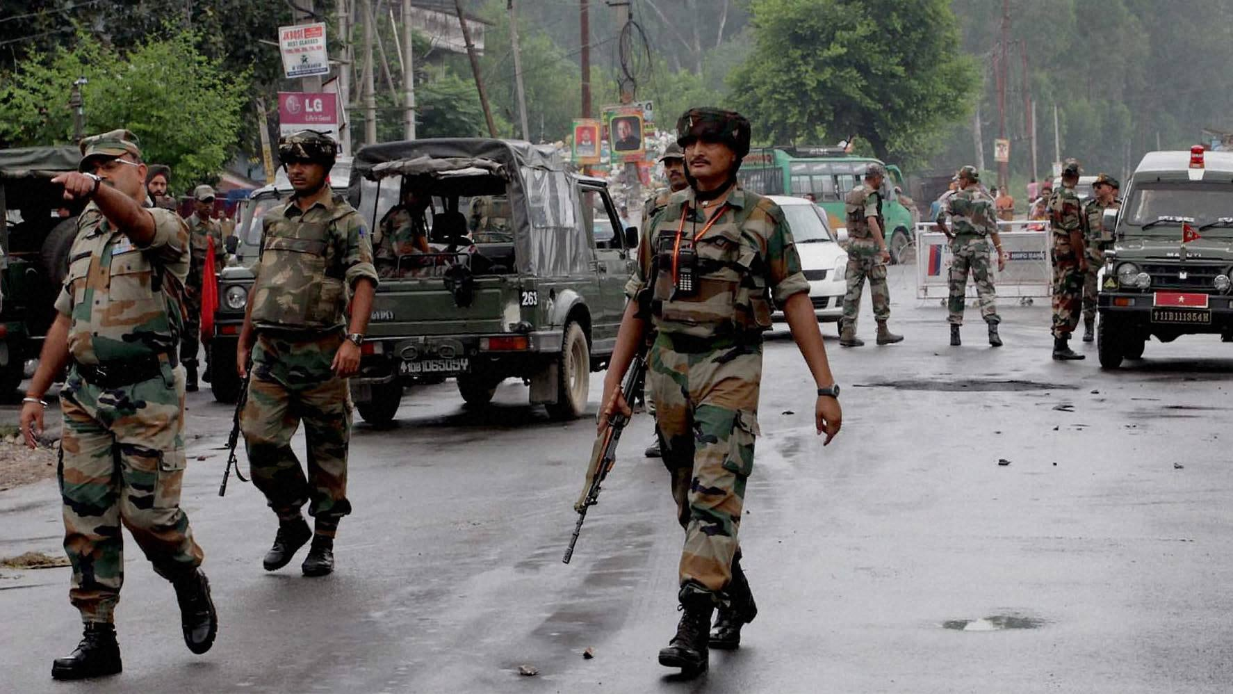 AFSPA removed from Meghalaya completely, partly in Arunachal