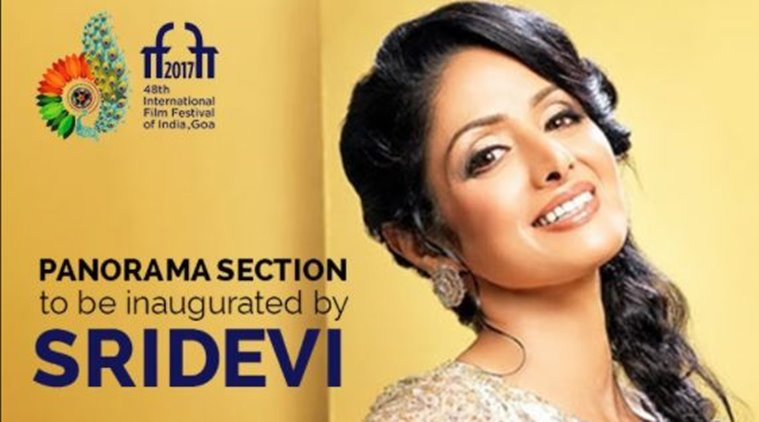 IFFI 2017: Sridevi inaugurates Indian Panorama